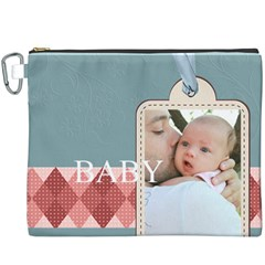 Baby By Baby   Canvas Cosmetic Bag (xxxl)   W8ckudqc1a5v   Www Artscow Com Front