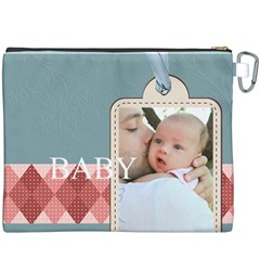 Baby By Baby   Canvas Cosmetic Bag (xxxl)   W8ckudqc1a5v   Www Artscow Com Back