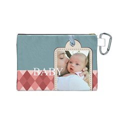 Baby By Baby   Canvas Cosmetic Bag (medium)   1wiz9btiyhuu   Www Artscow Com Back