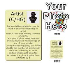 New Leader Deck By Steve Fowler   Multi Purpose Cards (rectangle)   Foigguzk1edv   Www Artscow Com Front 42