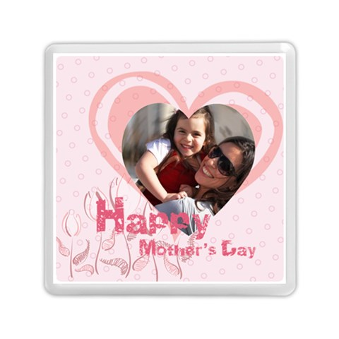 Mothers Day By Mom   Memory Card Reader (square)   Tjqvhr5mkwvj   Www Artscow Com Front
