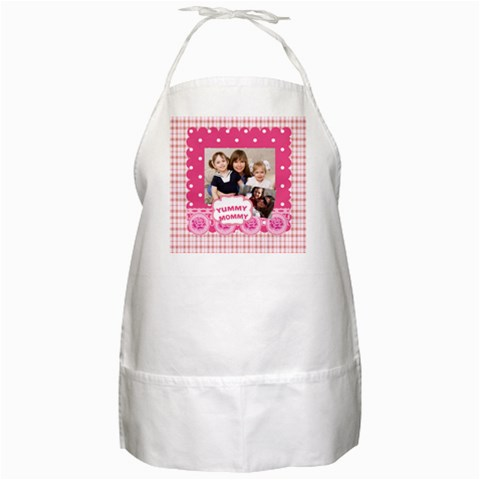Mother Day By Mom   Bbq Apron   Peejgh1espum   Www Artscow Com Front
