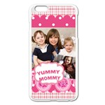mothers day - Apple iPhone 6 Plus/6S Plus Enamel White Case