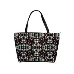 Geometric Grunge Large Shoulder Bag by dflcprints