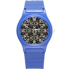 Geometric Grunge Plastic Sport Watch (small) by dflcprints