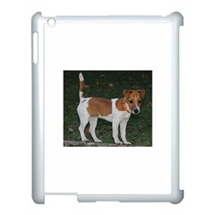 Jack Russell Terrier Full Apple iPad 3/4 Case (White) by TailWags