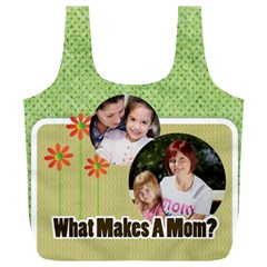 Mothers Day By Mom   Full Print Recycle Bag (xl)   G3gkjyo2jwaf   Www Artscow Com Back