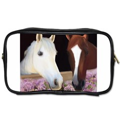 Friends Forever Travel Toiletry Bag (two Sides) by JulianneOsoske