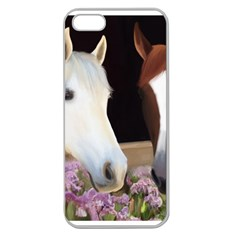 Friends Forever Apple Seamless Iphone 5 Case (clear) by JulianneOsoske