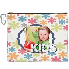Kids By Mac Book   Canvas Cosmetic Bag (xxxl)   Dw34c8zjd17e   Www Artscow Com Front