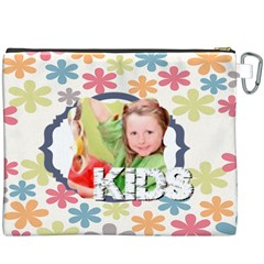 Kids By Mac Book   Canvas Cosmetic Bag (xxxl)   Dw34c8zjd17e   Www Artscow Com Back