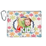 kids - Canvas Cosmetic Bag (XL)