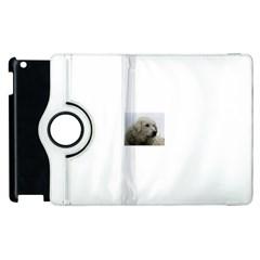 Kuvasz Apple iPad 2 Flip 360 Case by TailWags