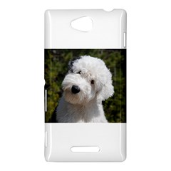 Old English Sheep Dog Pup Sony Xperia C (S39H) Hardshell Case by TailWags