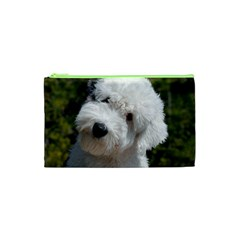 Old English Sheep Dog Pup Cosmetic Bag (XS) by TailWags