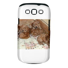 Apricot Poodle Pups Samsung Galaxy S III Classic Hardshell Case (PC+Silicone) by TailWags