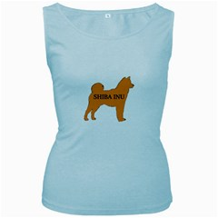 Shiba Inu Name Silo Color Women s Tank Top (Baby Blue) by TailWags