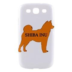 Shiba Inu Name Silo Color Samsung Galaxy S III Hardshell Case  by TailWags