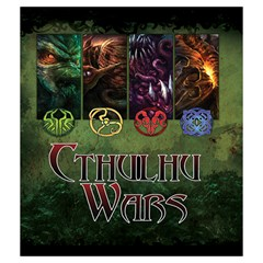 Cthulhu Wars By Keven Ruest   Drawstring Pouch (medium)   43emjt2hnrk4   Www Artscow Com Front
