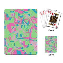 Pastel Chaos Playing Cards Single Design by LalyLauraFLM