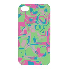 Pastel Chaos Apple Iphone 4/4s Hardshell Case by LalyLauraFLM