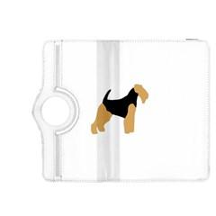 Welsh Terrier Silo Color Kindle Fire HDX 8.9  Flip 360 Case by TailWags