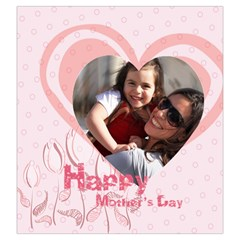 Mothers Day By Mom   Drawstring Pouch (large)   J6fj3fhfpvoe   Www Artscow Com Front