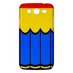 Colorful Curtain Samsung Galaxy Mega 5 8 I9152 Hardshell Case  by LalyLauraFLM