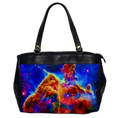 Cosmic Mind Oversize Office Handbag (one Side) by icarusismartdesigns