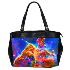 Cosmic Mind Oversize Office Handbag (two Sides) by icarusismartdesigns