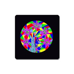 Star Seeker Magnet (square) by icarusismartdesigns