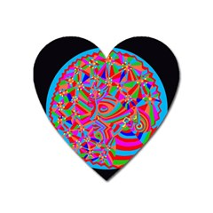 Magical Trance Magnet (heart) by icarusismartdesigns