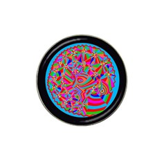 Magical Trance Golf Ball Marker 4 Pack (for Hat Clip) by icarusismartdesigns