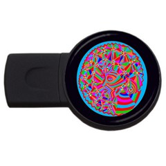 Magical Trance 2gb Usb Flash Drive (round) by icarusismartdesigns