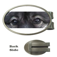 Keeshond Eyes Money Clip (Oval) by TailWags