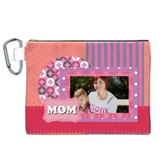Mothers Day By Mom   Canvas Cosmetic Bag (xl)   Nywql8ew7zk2   Www Artscow Com Front