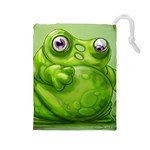 quarriors-green - Drawstring Pouch (Large)