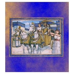 Tigris And Euphrates By Dean   Drawstring Pouch (large)   R9vbqirevhfn   Www Artscow Com Back