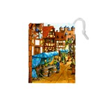 Carcassonne Castle Small - Drawstring Pouch (Small)