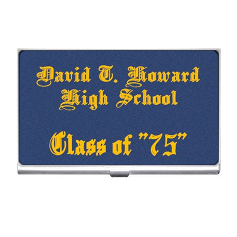 David T Howard By Beverly A  Terrell   Business Card Holder   0w354cftt2el   Www Artscow Com Front