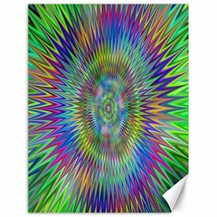 Hypnotic Star Burst Fractal Canvas 18  X 24  (unframed) by StuffOrSomething