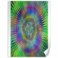 Hypnotic Star Burst Fractal Canvas 36  X 48  (unframed) by StuffOrSomething