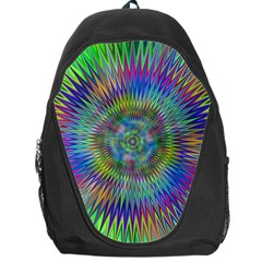 Hypnotic Star Burst Fractal Backpack Bag by StuffOrSomething
