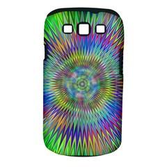 Hypnotic Star Burst Fractal Samsung Galaxy S III Classic Hardshell Case (PC+Silicone) by StuffOrSomething