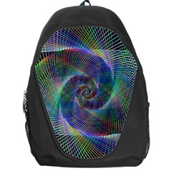 Psychedelic Spiral Backpack Bag by StuffOrSomething