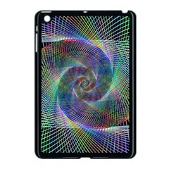 Psychedelic Spiral Apple Ipad Mini Case (black) by StuffOrSomething