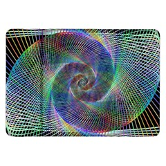 Psychedelic Spiral Samsung Galaxy Tab 8 9  P7300 Flip Case by StuffOrSomething