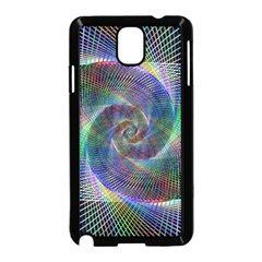 Psychedelic Spiral Samsung Galaxy Note 3 Neo Hardshell Case (black)