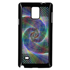 Psychedelic Spiral Samsung Galaxy Note 4 Case (black) by StuffOrSomething