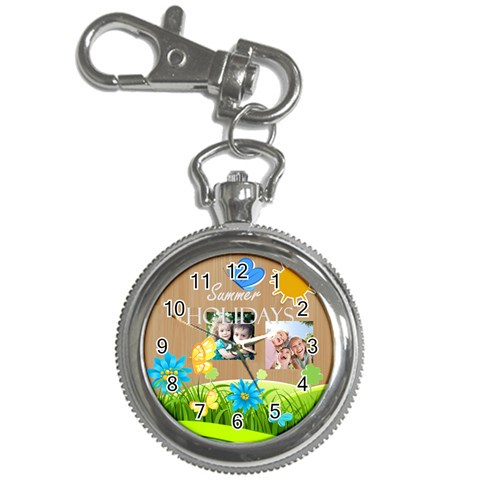 Summer By Summer Time    Key Chain Watch   Dgr2015t7x6z   Www Artscow Com Front
